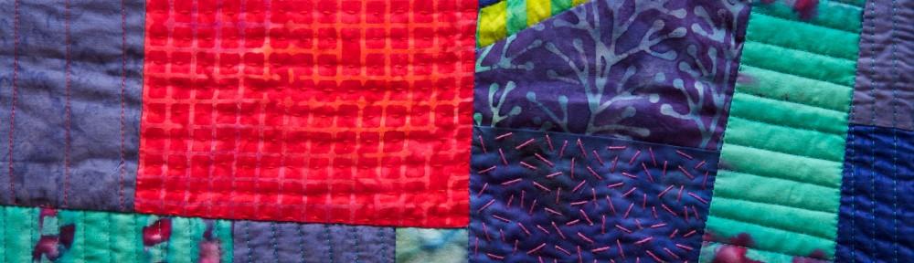 Improv Quilt #2 detail