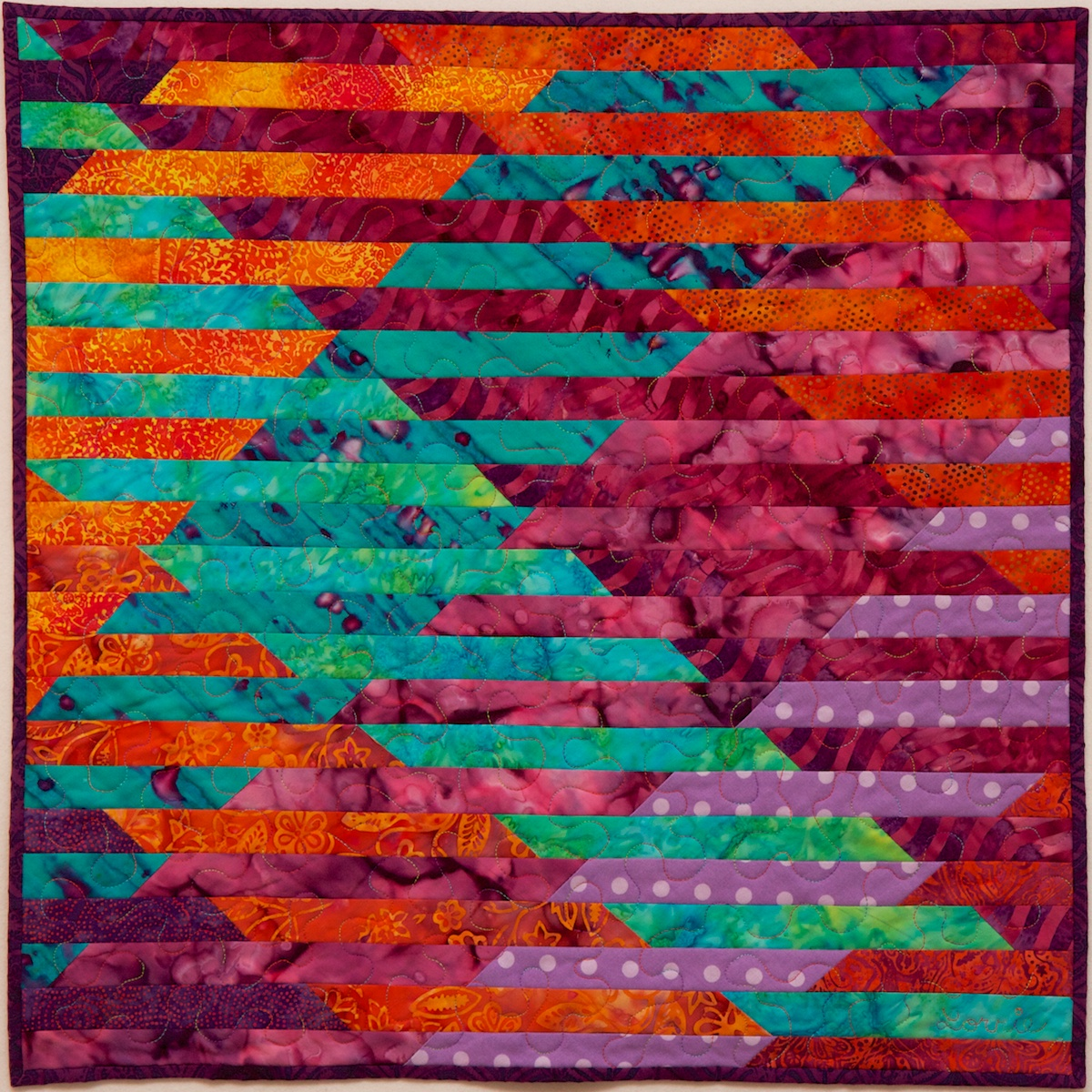 Quilting Designs For Water : Quilt lecture and Interleave workshop This Thing
