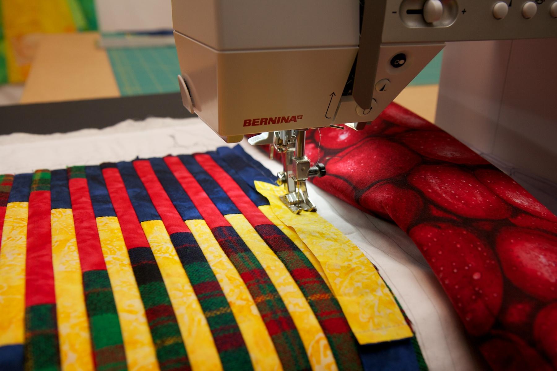 Tartan Tango | This Thing : tartan patchwork quilt - Adamdwight.com