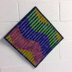Marlene Fenoglietto's interleave quilt, started during the workshop
