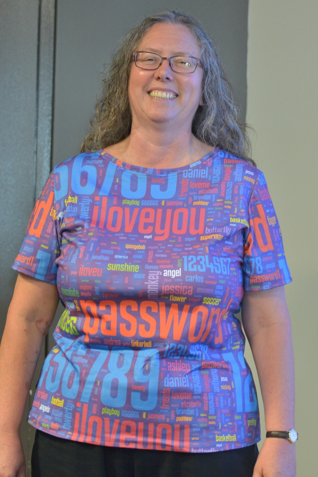 Bad passwords t-shirt