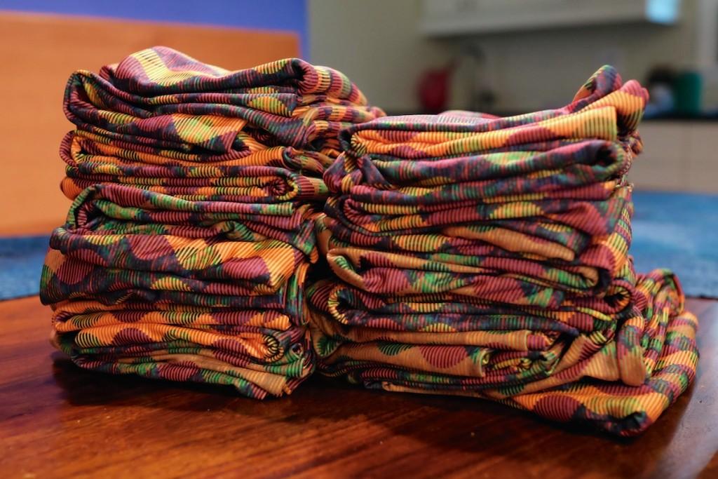 25 Tartan Tango infinity scarves