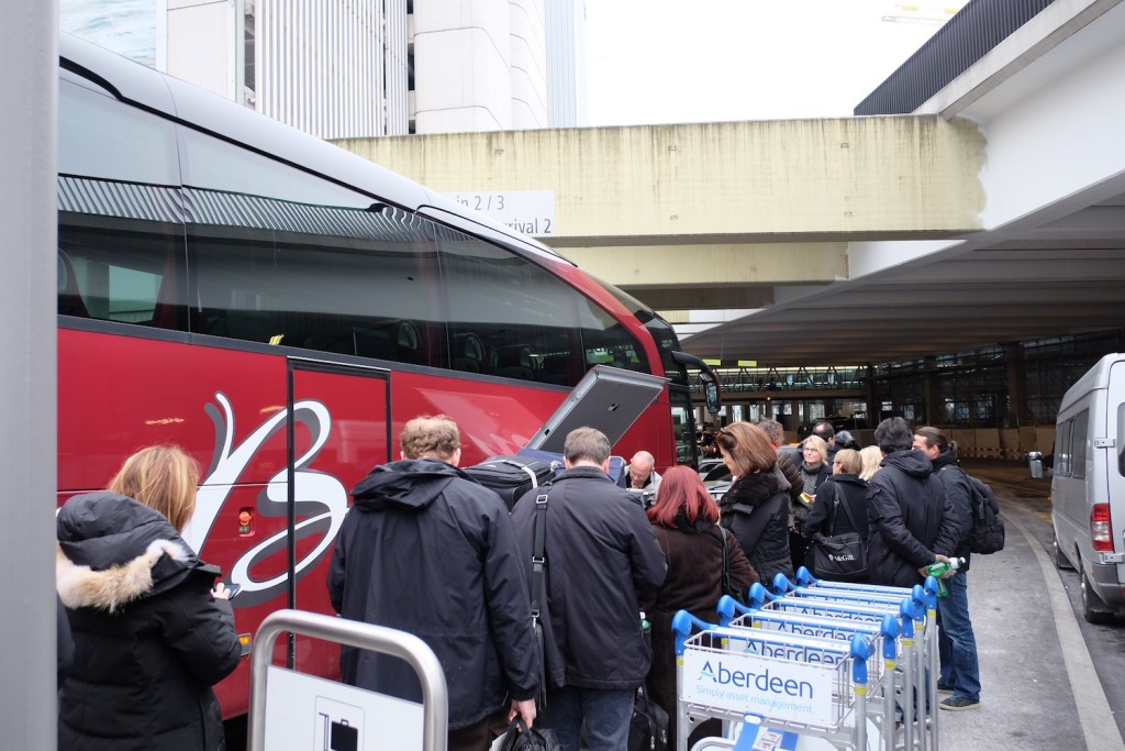 World Economic Forum Davos bus