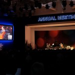 Yo-yo Ma and ensemble performing at WEF 2016 opening session