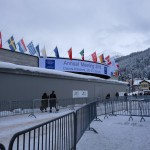 Congress Centre with fresh snow, WEF 2016
