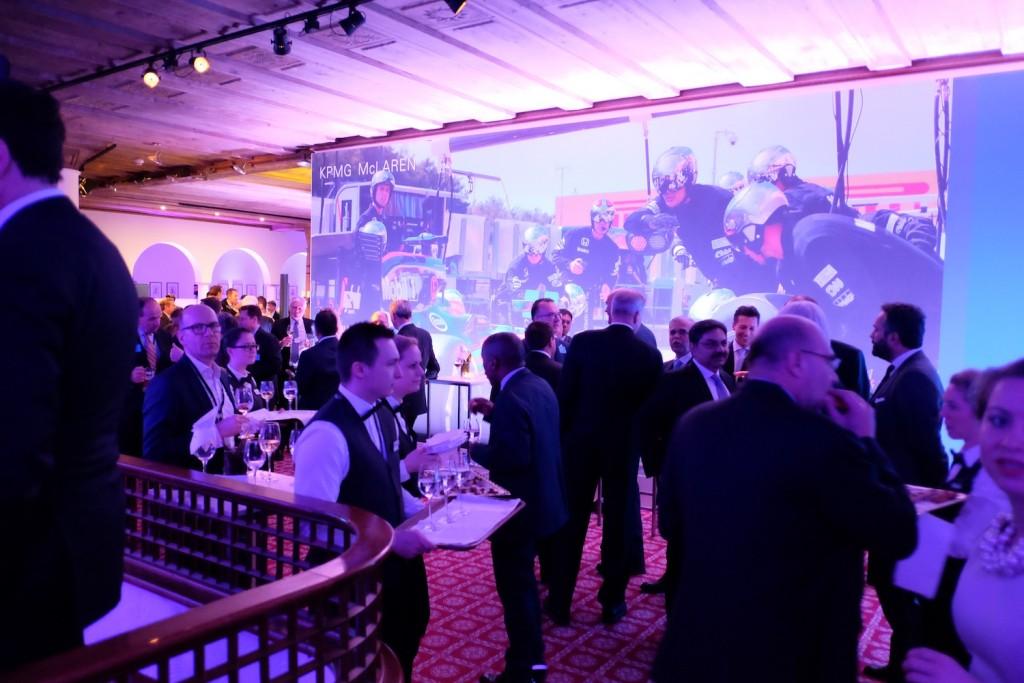 KPMG reception, WEF 2016