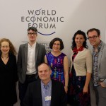 Justine, Anthony, Lorrie Amy, Chris, and Andrew after CMU Ideas Lab, WEF 2016