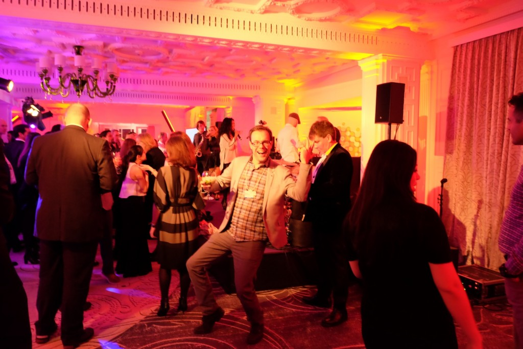 Chris at PWC party in Belvedere hotel, WEF 2016