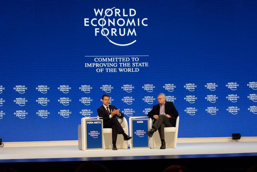 Enrique Peña Nieto, President of Mexico, WEF 2016