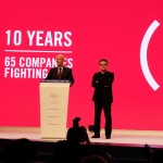 Bono  at 10th Anniversary of (RED) campaign, WEF 2016