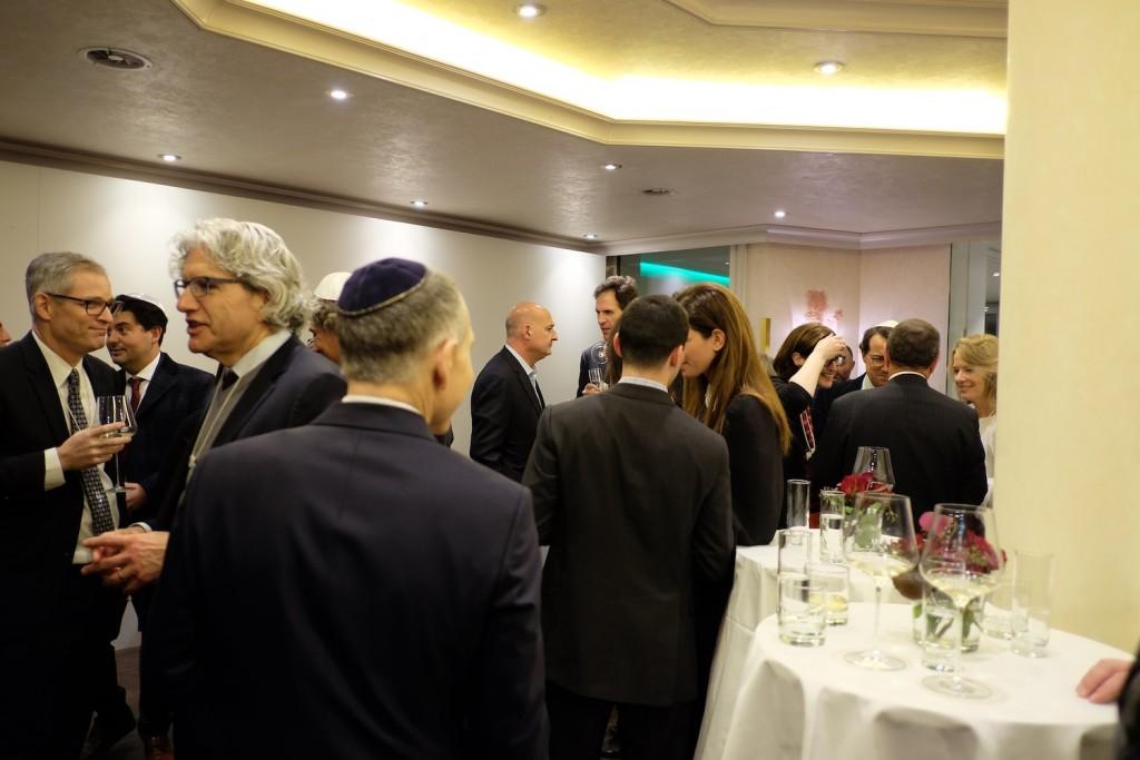 Shabbat dinner, WEF 2016