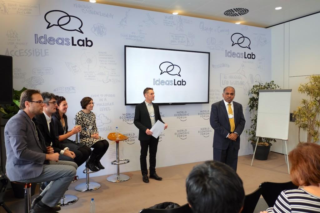 CMU Ideas Lab session in the Loft, World Economic Forum, Davos 2016
