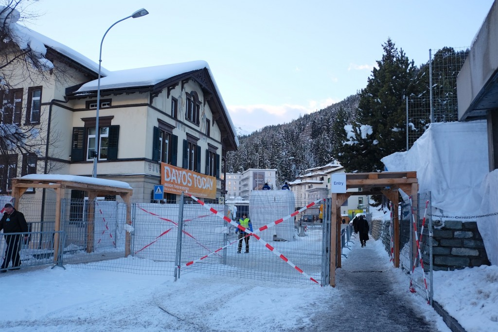 Davos WEF middle entry