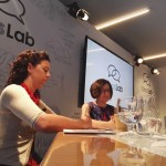 Amy and Lorrie at CMU ideas Lab, WEF 2016