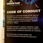 Black Hat code of conduct