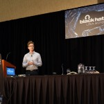Patrick presenting at Black Hat