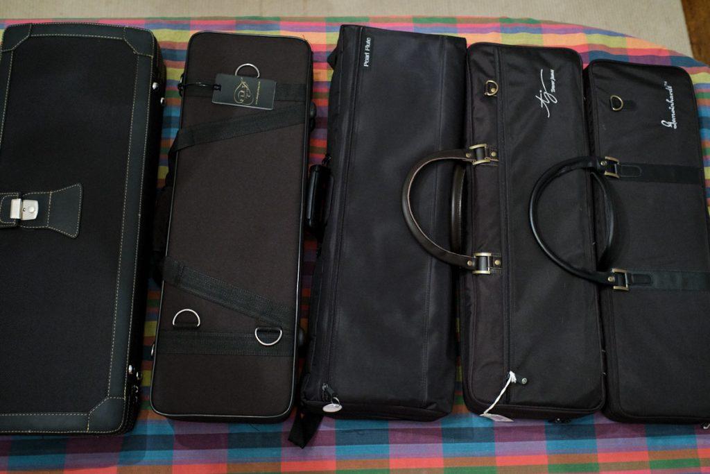 5 bass flute cases