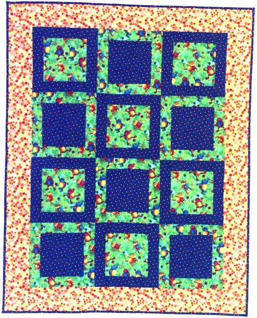 Quilts by Lorrie Faith Cranor : potato chip quilt pattern - Adamdwight.com