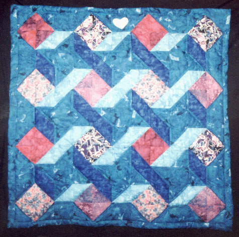 Quilts by lorrie faith cranor this quilt uses a traditional ribbon star block with a somewhat unusual arrangement of colors i used ms powerpoint to experiment with toneelgroepblik Choice Image
